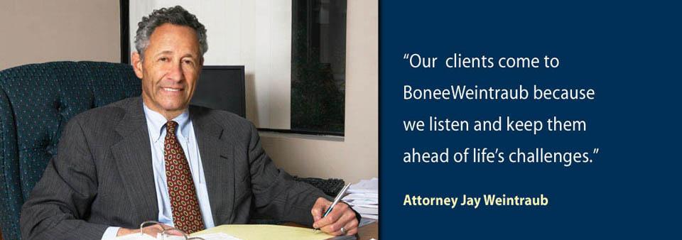 Attorney Jay Weintraub